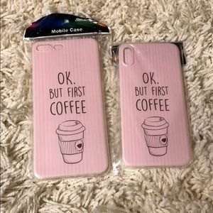 🆕 ok, but first coffee Phone Case